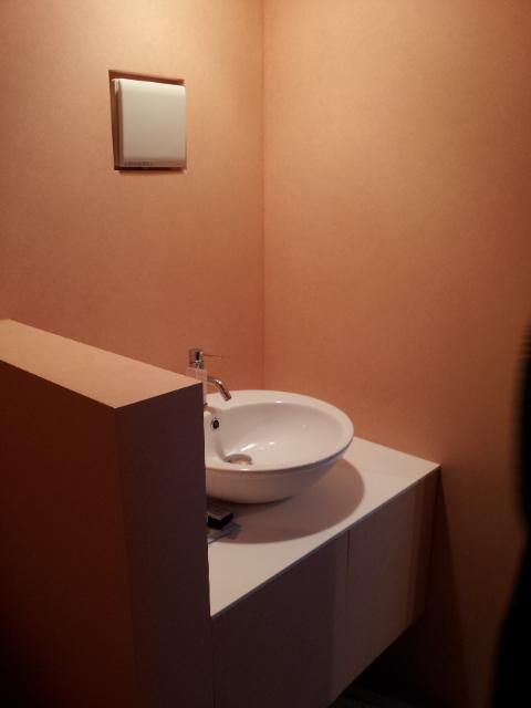 彦根アンドレア氏設計建築 トイレ