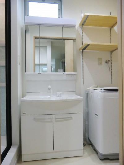洗面室アフター