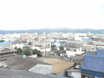 京都方面の風景